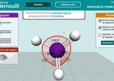 Simulador de Molécula - Bernoulli Sistema de Ensino