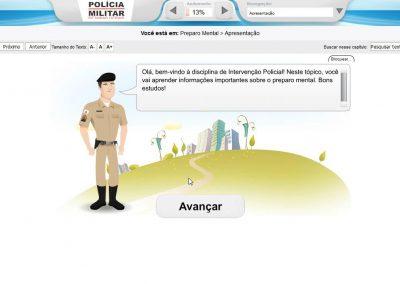 Curso EaD - Polícia Militar de Minas Gerais