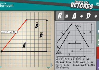 Game sobre Vetores - Bernoulli Sistema de Ensino